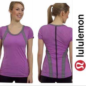 Lululemon Run: Revitalize Tech Short Sleeve Pink 6